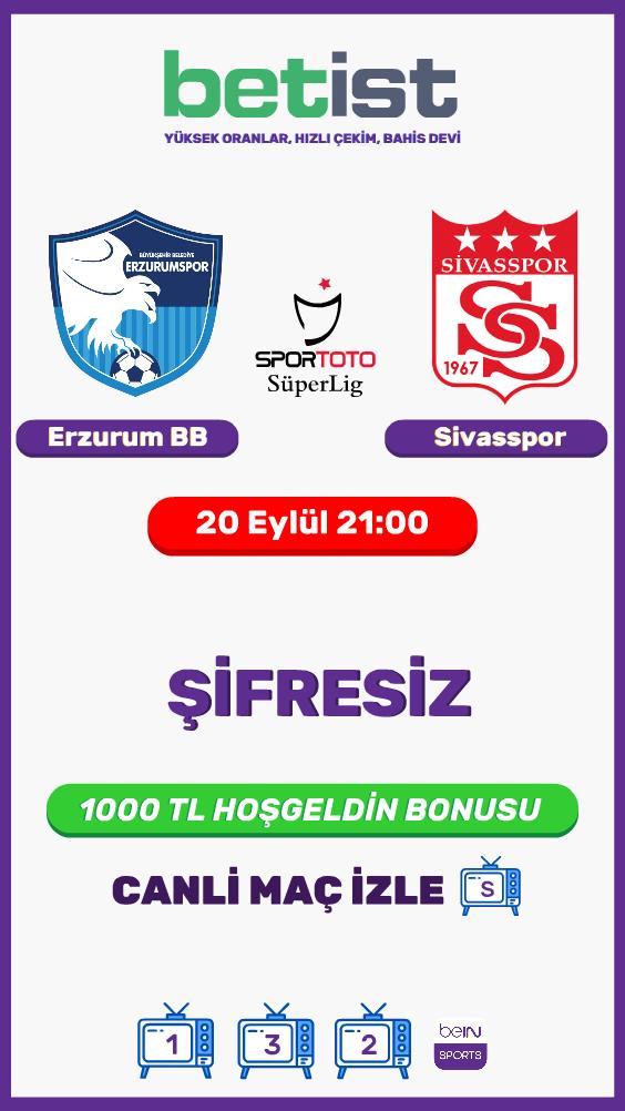 BB Erzurumspor - Sivasspor