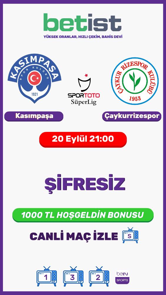 Kasımpaşa - Çaykur Rizespor