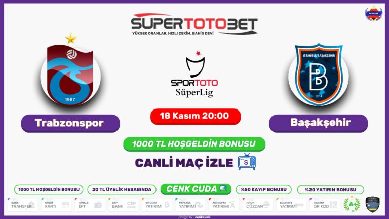 Trabzonspor - Başakşehir FK